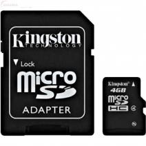 Micro SD 4GB + SD Adapter
