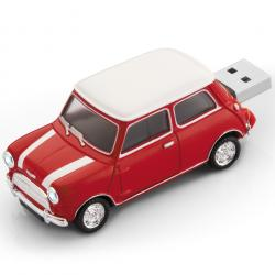 Mini Cooper 8GB Pendrive - Piros